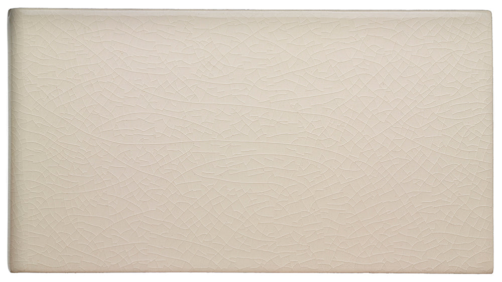 "Waterworks Architectonics Handmade Field Tile 4 1/4"" x 8"" in Mykonos Glossy Solid For Sale Online"