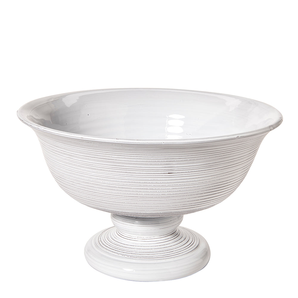 Waterworks Arno Pedestal Bowl in White