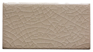 "Waterworks Architectonics Handmade Field Tile 4 1/4"" x 8"" in Icewater Glossy Crackle For Sale Online"