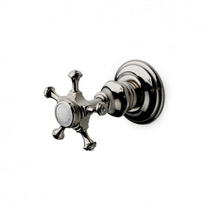 Waterworks Amelie Volume Control Valve Trim in Matte Nickel