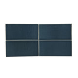 Waterworks Architectonics Field Tile 3 x 6 in Blue Glossy Solid