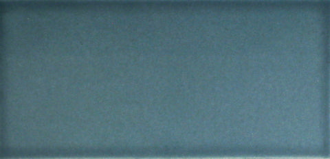 Waterworks Architectonics Field Tile 3 x 6 in Blue Matte