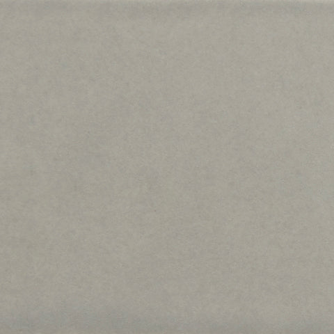 Waterworks Architectonics Tile 6 x 6 Bullnose Single in Gray Matte