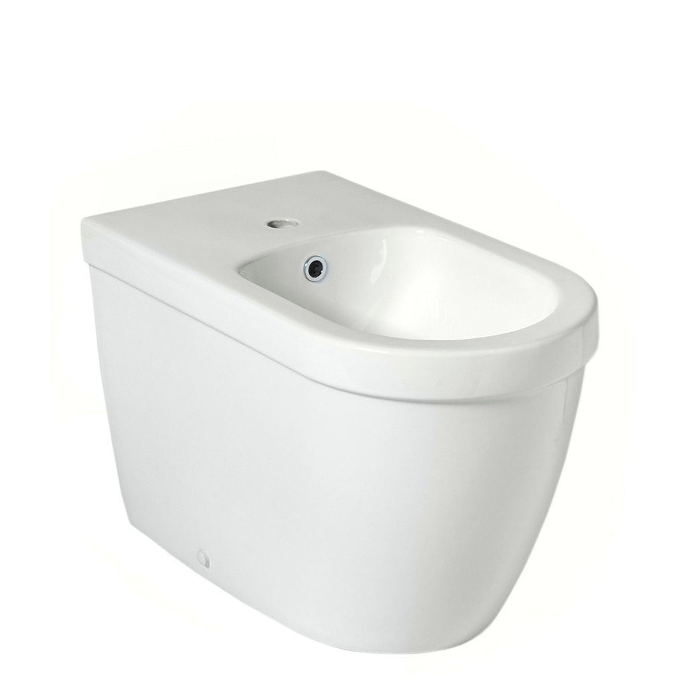 Waterworks Axel Horizontal Bidet in Modern White