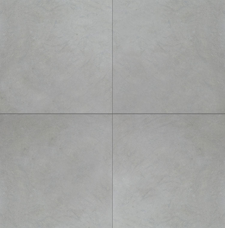 Stone Partnership Field Tile 24 x 24 in Gray
