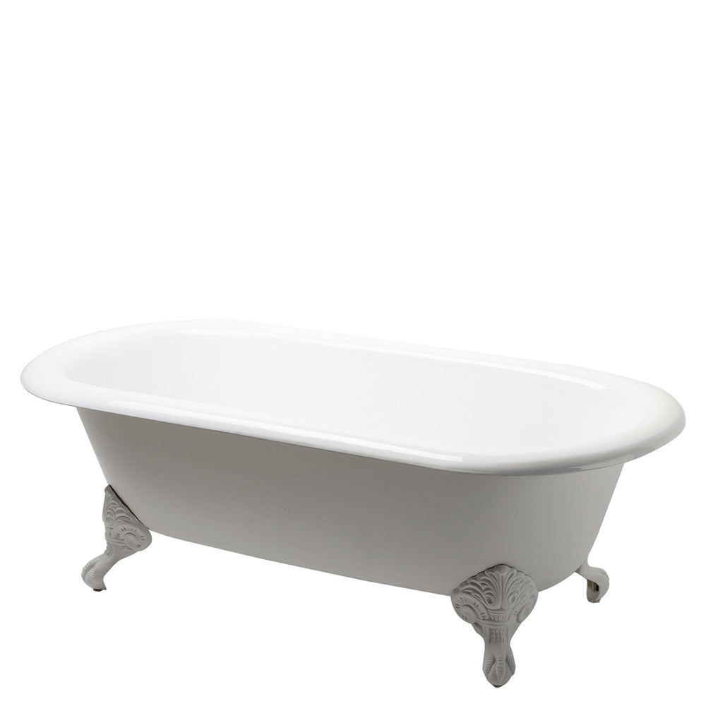 Beaumont Freestanding Cast Iron Bathtub with Cast Iron Claw Feet