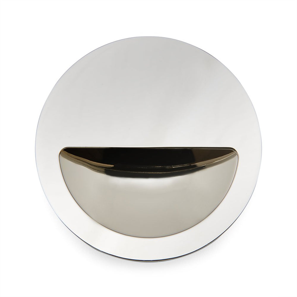 "Waterworks Bolinas 3"" Recessed Pull in Burnished Nickel"