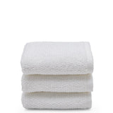 Waterworks Boucle Cotton Wash Towel in White