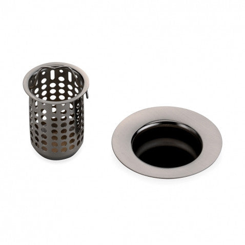 Universal Bar Sink Strainer in Copper