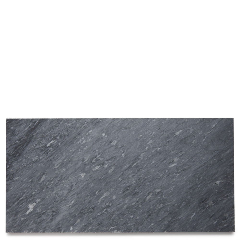 "Waterworks Keystone Field Tile 6"" x 30"" x 3/8"" in Bardiglio Dark Polished"