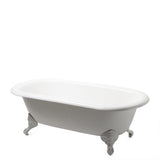 Waterworks Beaumont Bathtub with Claw Feet in Burnished