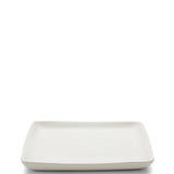 Waterworks Boleware Medium Square Tray in White