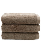 Cumulus Terry Bath Towel in Stone