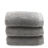 Cumulus Terry Hand Towel in Gray