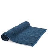 Cumulus Bath Mat in Deep Blue