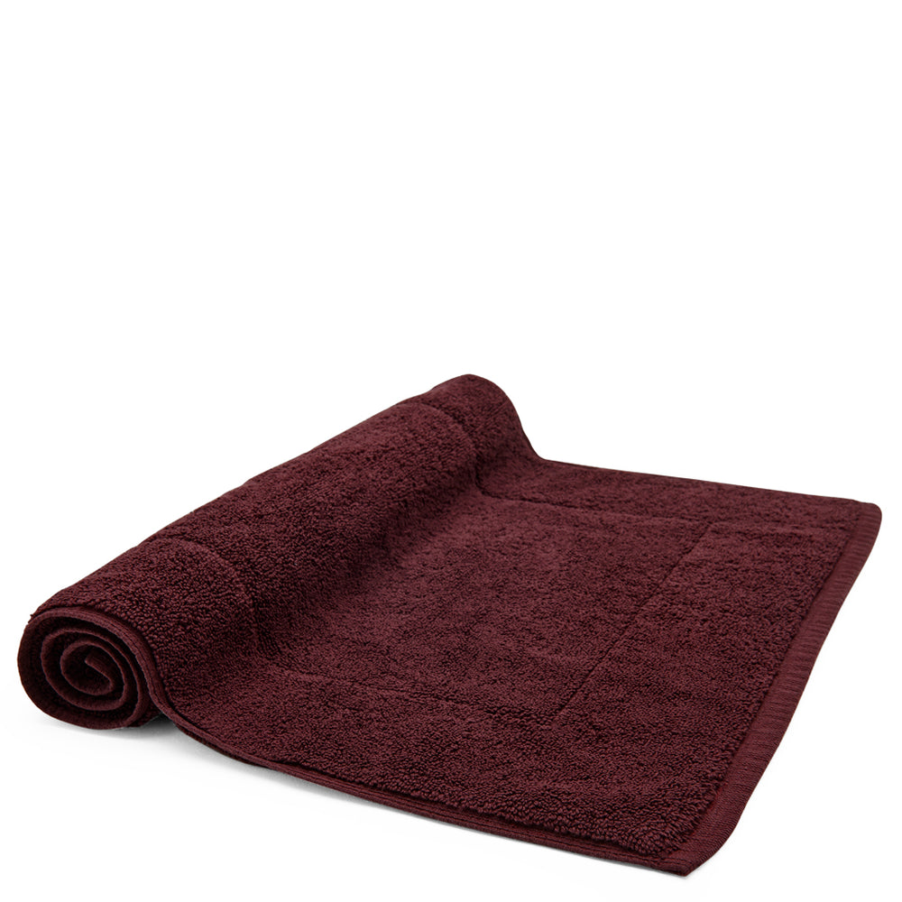 Waterworks Cumulus Bath Mat in Mulberry