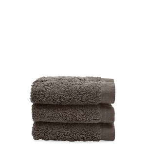 Waterworks Cumulus Terry Wash Towel in Stone
