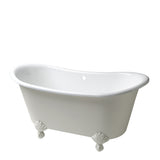Waterworks Candide Freestanding Cast Iron Bathtub with Claw Feet