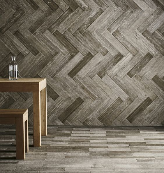 "Waterworks Keystone Field Tile 4 x 18 x 3/8"" in Brushed Antique Carlotta"