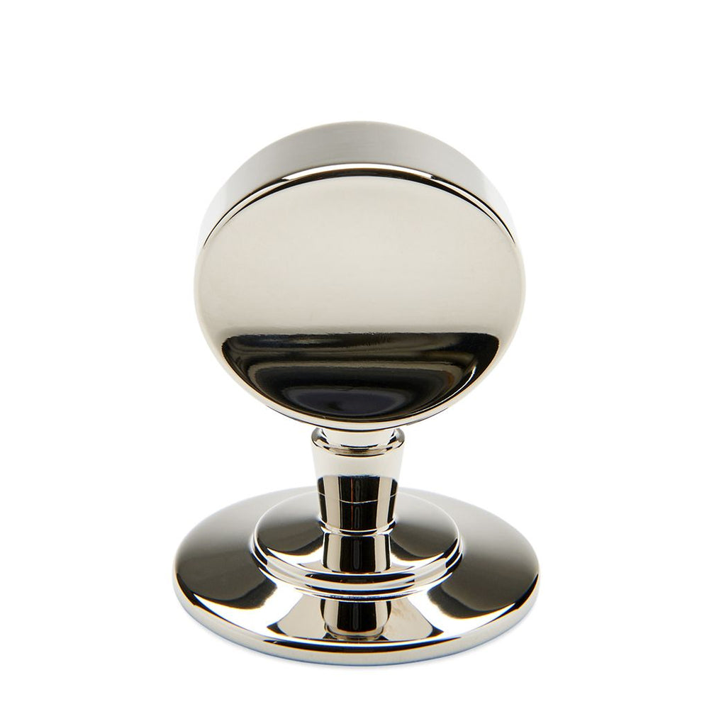 "Waterworks Chord 1 1/4"" Knob in Matte Nickel"
