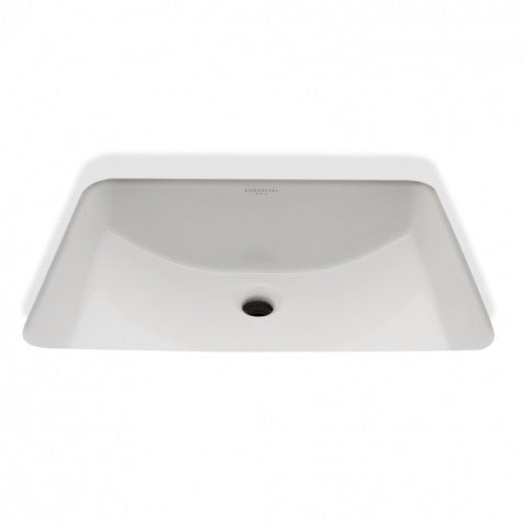 Waterworks Clara Rectangular Bathroom Sink in White