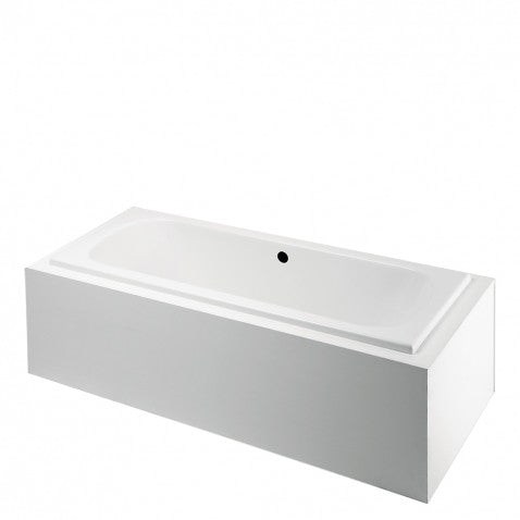 Waterworks Classic Rectangular Bathtub with Center Drain