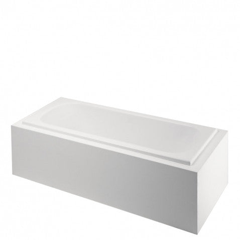 Classic Rectangular Bathtub with Right Hand Air and End Drain