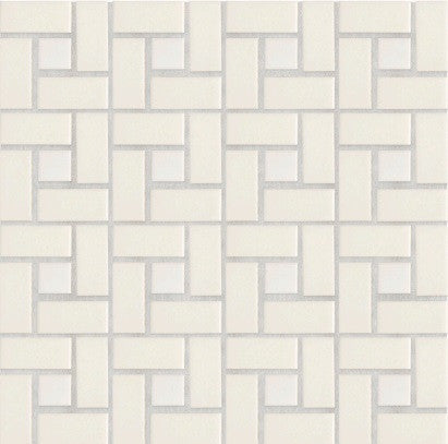 Waterworks Cottage Arc d' Midi Mosaic in Cream Matte