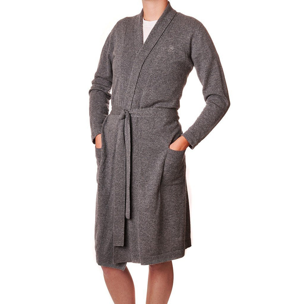 Waterworks Dolce Cashmere Robe M/L in Gray