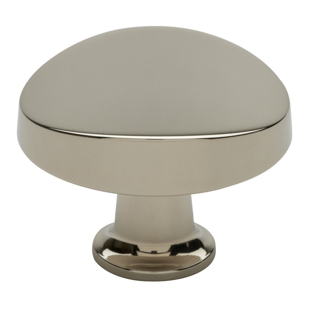 "Waterworks Dune 1 1/2"" Knob in Matte Nickel"