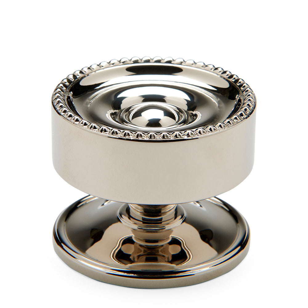 "Waterworks Encore 1 1/2"" Knob in Nickel"