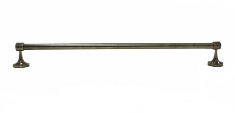 "Waterworks Easton 24"" Towel Bar in Antique Nickel"
