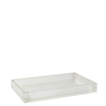 Waterworks Floe Medium Rectangular Tray in Glacier