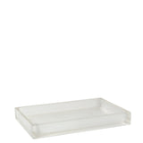Floe Medium Rectangular Tray in Glacier