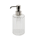 Waterworks Flute Soap Dispenser in Clear