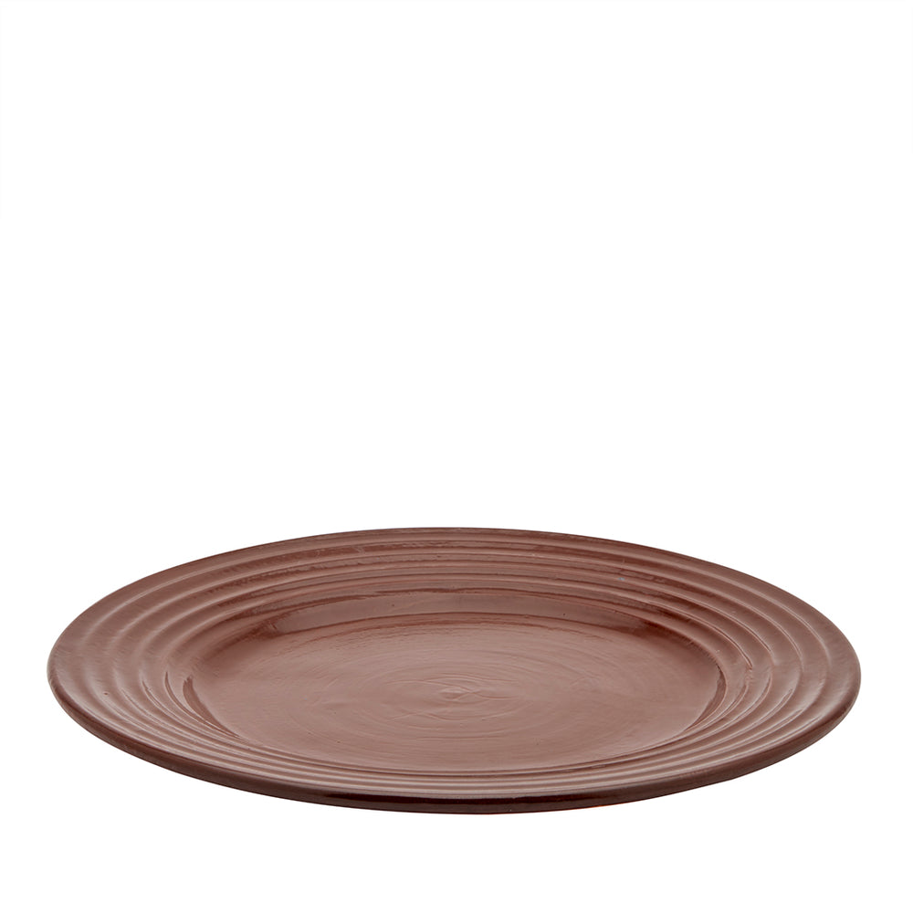 Waterworks Forno Large Plate in Terracotta