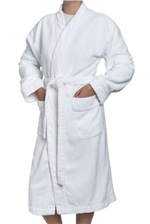 Waterworks Grano Extra Large Robe in White