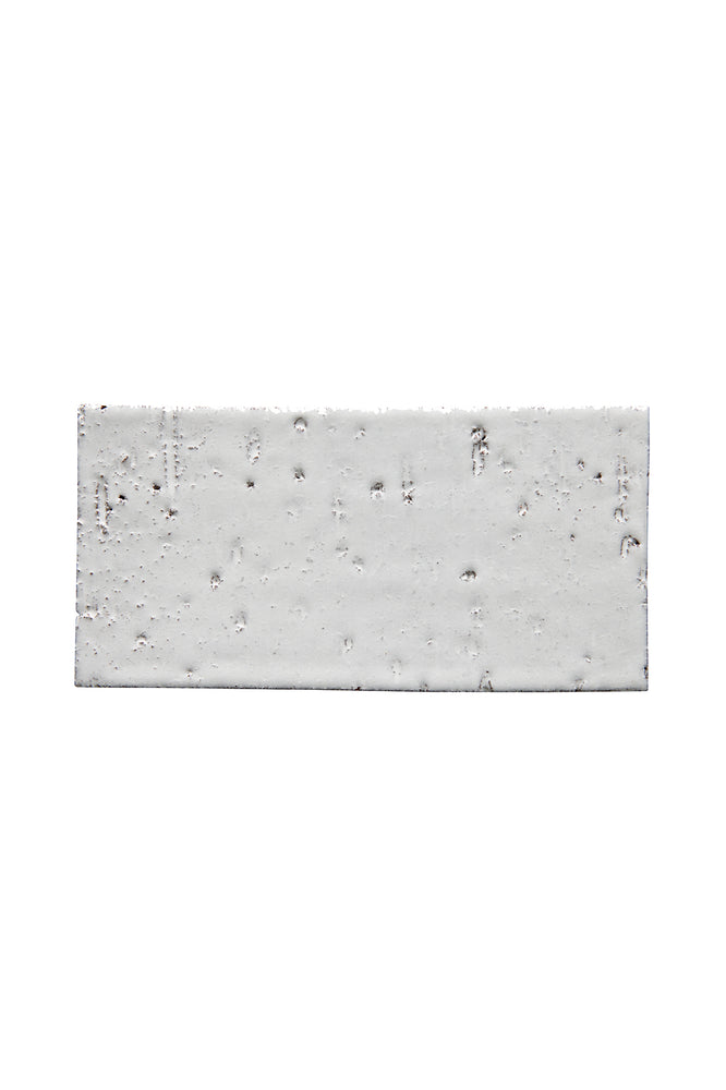 "Waterworks Grove Brickworks Field Tile 4 1/8"" x 8 1/4"" in Sugar White Glossy"