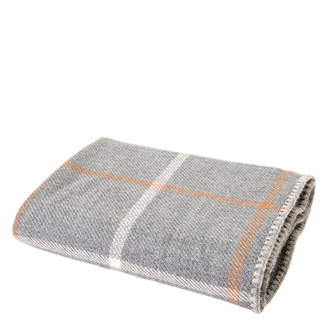 Waterworks Highland Throw in Gray