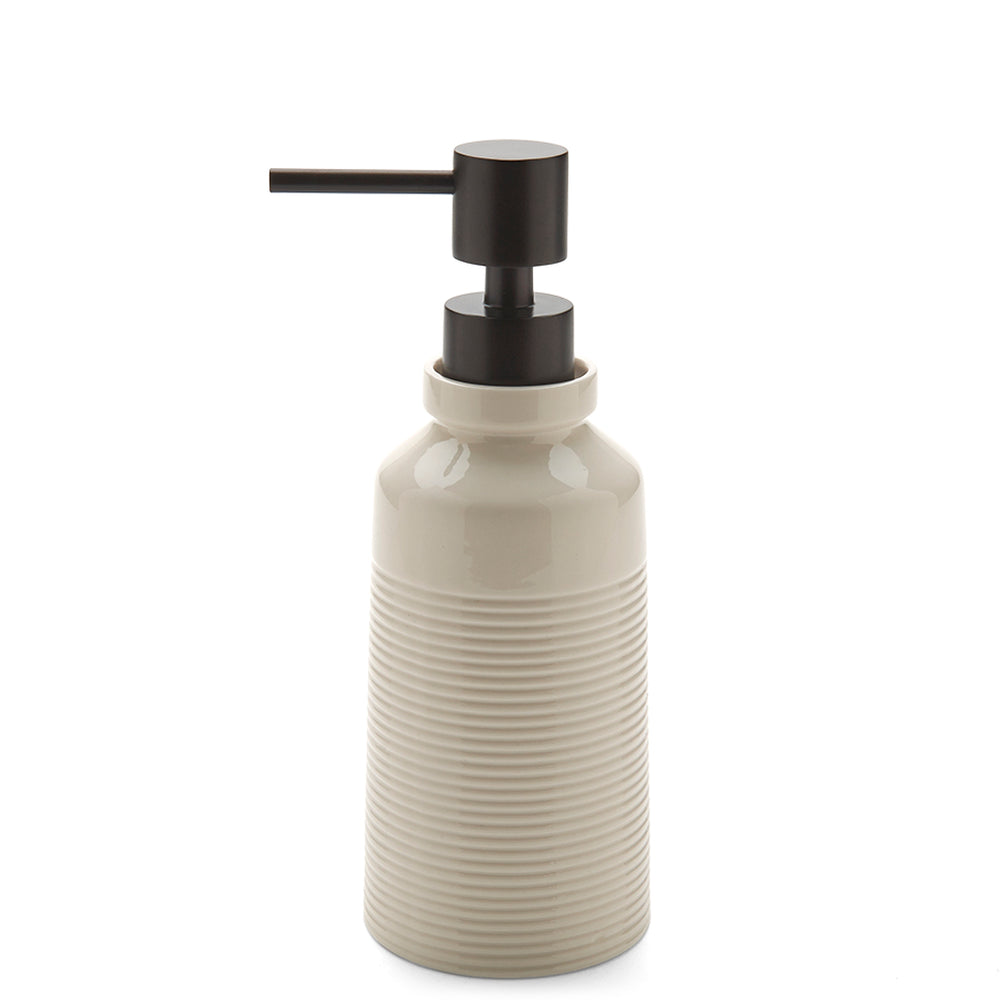 Waterworks Hathaway Soap Dispenser in Cream