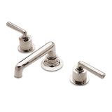 Waterworks Henry Bathroom Faucet in Burnished Nickel