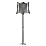 Ipswich Counter Mounted Light with Mesh Shade in Nickel