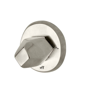 Isla Two Way Diverter Valve Trim in Matte Nickel