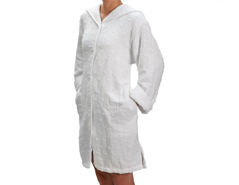 Waterworks Kate Medium Robe in White