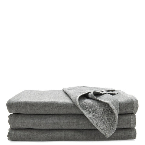 Kapas Gauze and Cotton Hand Towel in Gray