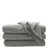 Kapas Multi Tone Cotton Blend Wash Towels in Gray