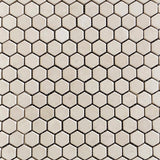Marble Honeycomb Mosaic in Beige