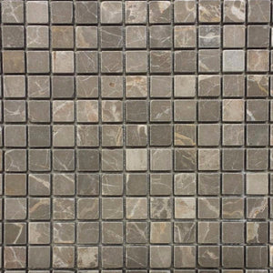 Marble 3/4 x 3/4 Mosaic Tile in Olive Green