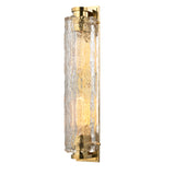 Marlon Wall Mounted Single Sconce in Unlacquered Brass