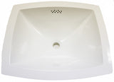 "Waterworks Manchester Bathroom Sink 19 1/2"" x 16 1/4"" in White"